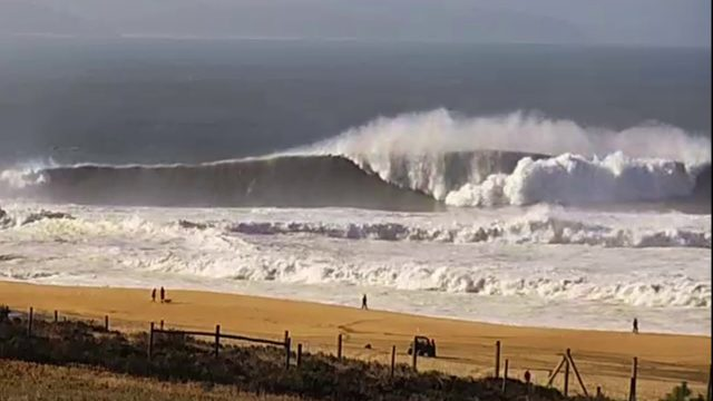 Cam Rewind: Andrew Cotton Wipeout at Nazare