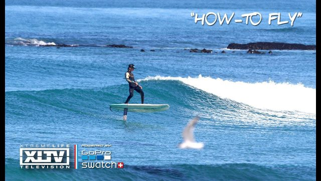 HOW-TO FOIL // Best thing about foil surfing with 15YO NateV