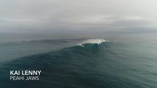 Kai Lenny Getting ready for the 2017 Peahi Challenge – Jaws Maui 10-25-17