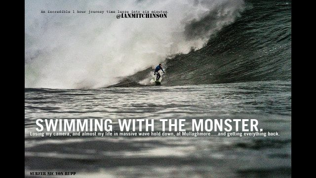 Losing my camera, and almost my life in massive wave hold down at Mullaghmore.
