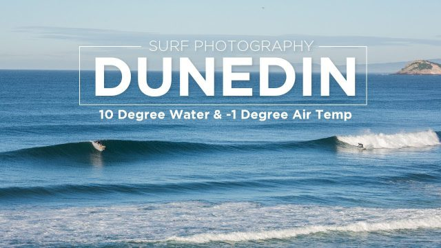 Surf Photography – Winter Surf Session in Dunedin, New Zealand