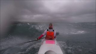Wild Downwind in the Eye of a Storm – 35 Knots and Torrential Rain