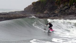 FIRST SURF in NORTH ERN CALIFORNIA