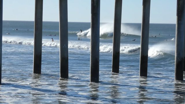 Huntington Beach, CA, Surf, 1/28/2018 – Part 5 (4K@30)