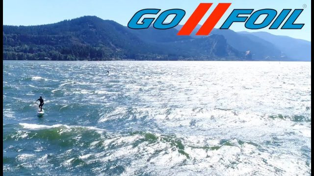 Dave Kalama and Alex Aguera on the GoFoil Tour to The Gorge 2017