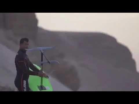 Surfing with the Slingshot SurfFoil w/ H2 Wing