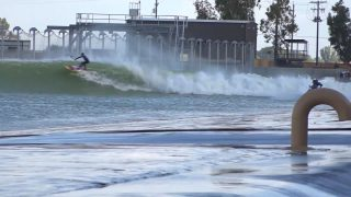 Kai Lenny SUP Surfing Kelly Slater's Surf Ranch