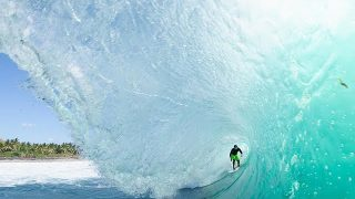 A Magical Evening At Desert Point Filled With Flawless Barrels | SURFER Magazine