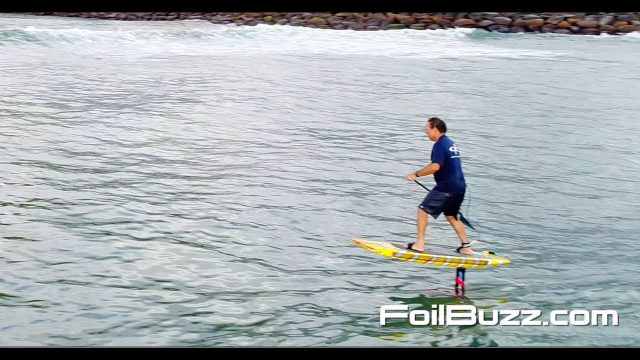 Dave Kalama Foil Buzz Pro Tip: How to Paddle When up on Foil.
