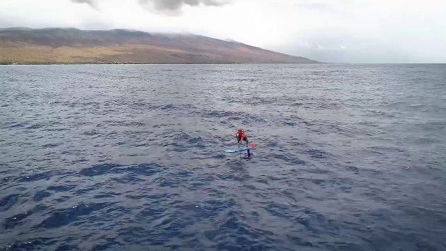 Maui To Moloka'i Hydrofoil Race 27 Miles Across Pailolo Channel